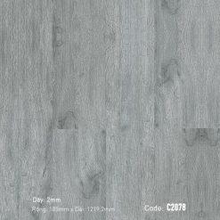 Sàn Nhựa Giả Gỗ Dán Keo Aroma c2078