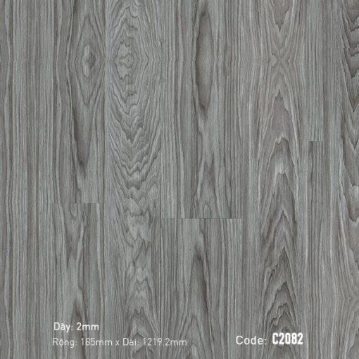 Sàn Nhựa Giả Gỗ Dán Keo Aroma c2082