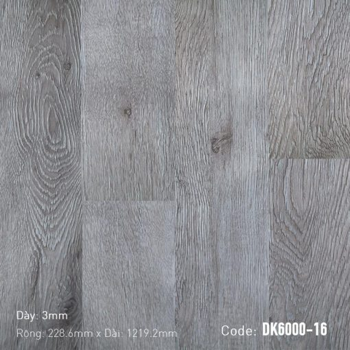 Sàn Nhựa Giả Gỗ Dán Keo DK6000-16