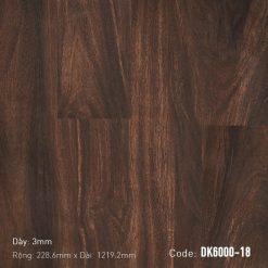Sàn Nhựa Giả Gỗ Dán Keo DK6000-18