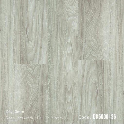 Sàn Nhựa Giả Gỗ Dán Keo DK6000-36