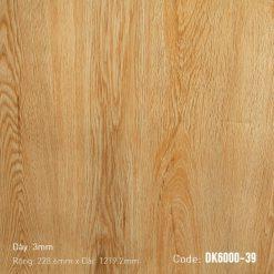 Sàn Nhựa Giả Gỗ Dán Keo DK6000-39