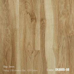 Sàn Nhựa Giả Gỗ Dán Keo DK6000-68