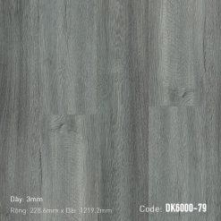 Sàn Nhựa Giả Gỗ Dán Keo DK6000-79