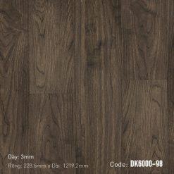 Sàn Nhựa Giả Gỗ Dán Keo DK6000-98