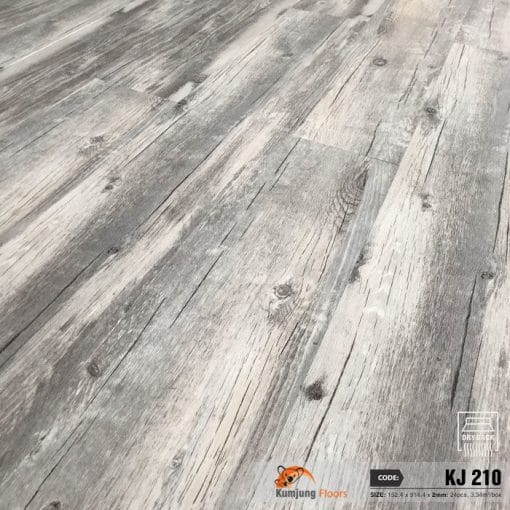 Sàn Nhựa Giả Gỗ Dán Keo Kumjung KJ210