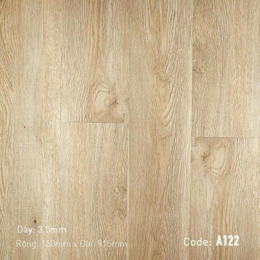 Sàn Nhựa Giả Gỗ Hèm Khóa Aroma A122