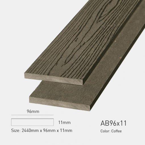 Gỗ Nhựa Ngoài Trời Awood AB96X11 coffee