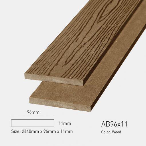 Gỗ Nhựa Ngoài Trời Awood AB96x11 wood