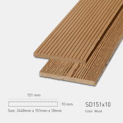 Gỗ Nhựa Ngoài Trời Awood SD151X10 Wood