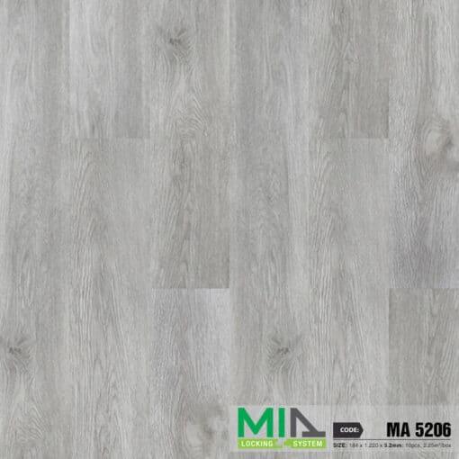 Sàn Nhựa Giả Gỗ Hèm Khóa MIA MA5206