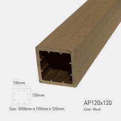 Gỗ Nhựa Ngoài Trời Awood AP120X120 WOOD