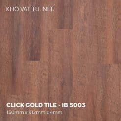 Sàn Nhựa Giả Gỗ Hèm Khóa IBT - IB 5003