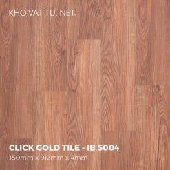 Sàn Nhựa Giả Gỗ Hèm Khóa IBT - IB 5004