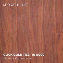 Sàn Nhựa Giả Gỗ Hèm Khóa IBT - IB 5007