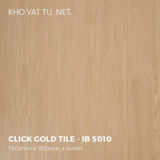 Sàn Nhựa Giả Gỗ Hèm Khóa IBT - IB 5010