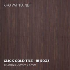 Sàn Nhựa Giả Gỗ Hèm Khóa IBT - IB 5033