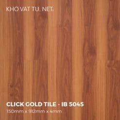 Sàn Nhựa Giả Gỗ Hèm Khóa IBT - IB 5045