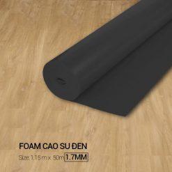Foam Cao Su Đen 1,7mm