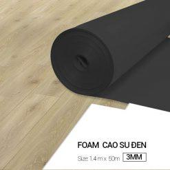 Foam Cao Su Đen 3mm