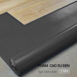 Foam Cao Su Đen 2mm