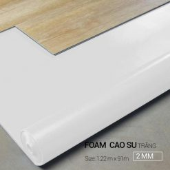 Foam Cao Su Trắng 2MM