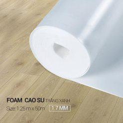 Foam Cao Su Trắng Xanh 1,7mm