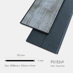 Gỗ Nhựa Ngoài Trời Ultrawood PS152X9 Snow Pine