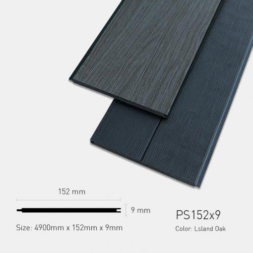 Gỗ Nhựa Ngoài Trời Ultrawood PS152x9 Lsland Oak