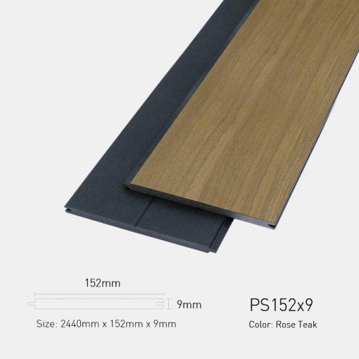 Gỗ Nhựa Ngoài Trời Ultrawood PS152x9 Rose teak