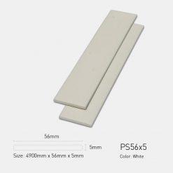 Gỗ Nhựa Ngoài Trời Ultrawood PS56x5 White