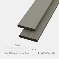 Gỗ Nhựa Ngoài Trời Ultrawood PS75x15 6001