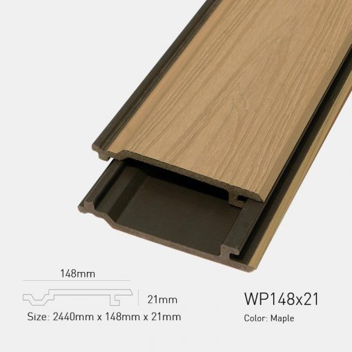 Gỗ Nhựa Ngoài Trời Ultrawood WP148X21 Maple