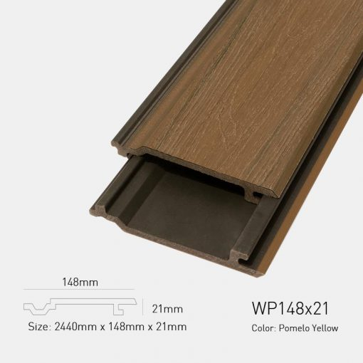 Gỗ Nhựa Ngoài Trời Ultrawood WP148X21 Pomelo Yellow