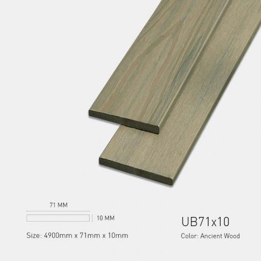 Gỗ Nhựa Ngoài Trời Ultrawood ub71x10 ancient wood