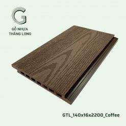 Gỗ Nhựa Thăng Long GTL_140x16x2200_Coffee