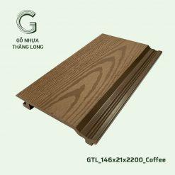 Gỗ Nhựa Thăng Long GTL_146x21x2200_Coffee