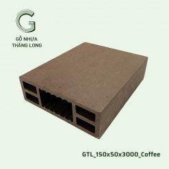 Gỗ Nhựa Thăng Long GTL_150x50x3000_Coffee