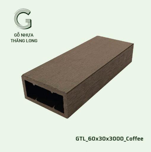 Gỗ Nhựa Thăng Long GTL_60x30x3000_Coffee