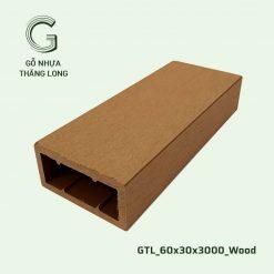Gỗ Nhựa Thăng Long GTL_60x30x3000_Wood