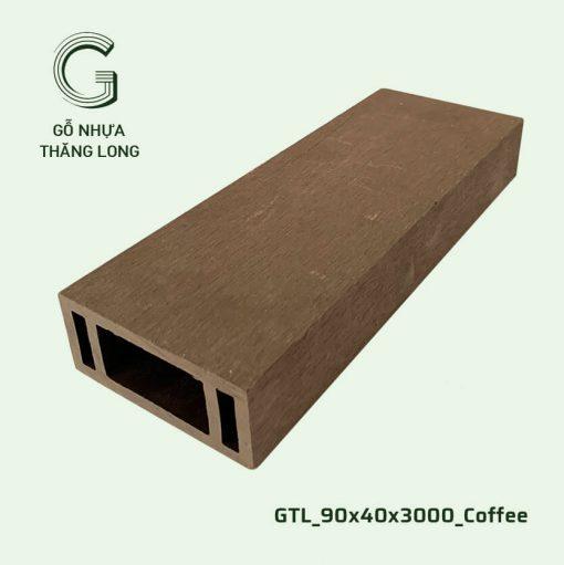 Gỗ Nhựa Thăng Long GTL_90x40x3000_Coffee