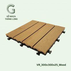 Vỉ Gỗ Nhựa Thăng Long VR_300X300X25_Wood