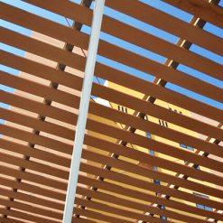 Lam cột, xà ngang gỗ nhựa