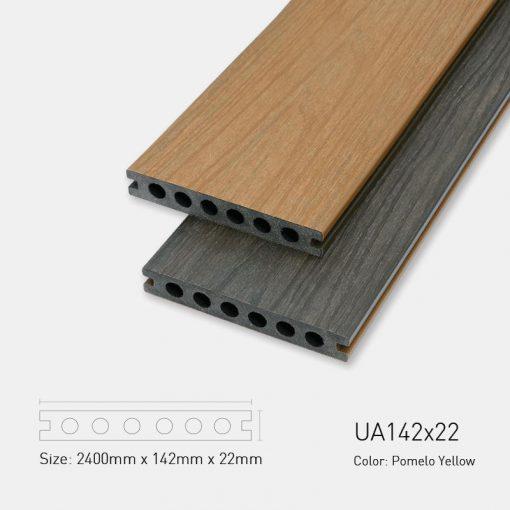 Sàn Gỗ Nhựa Ngoài Trời Ultrawood UA142X22 Pomelo Yellow