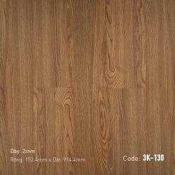 Sàn Nhựa Giả Gỗ Dán Keo 3K130
