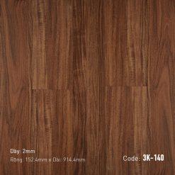 Sàn Nhựa Giả Gỗ Dán Keo 3K140
