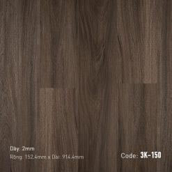 Sàn Nhựa Giả Gỗ Dán Keo 3K150
