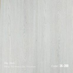 Sàn Nhựa Giả Gỗ Dán Keo 3K200