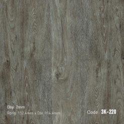 Sàn Nhựa Giả Gỗ Dán Keo 3K220