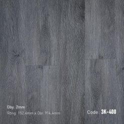 Sàn Nhựa Giả Gỗ Dán Keo 3K400